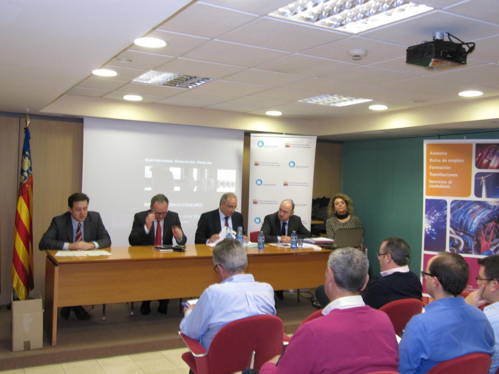 Entrevista a ponentes en la jornada con Cuatrecasas Gonçalves Pereira.