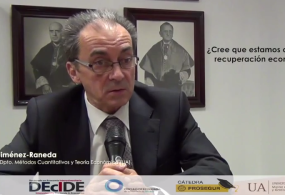 Vídeo entrevista al Catedrático y ex Rector de la Universidad de Alicante, profesor Ignacio Jiménez Raneda