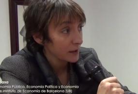 Vídeo-entrevista a Marta Espasa, doctora en economía y profesora de la Universidad de Barcelona