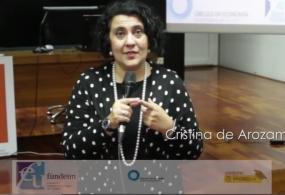 Vídeo-Entrevista a Cristina de Arozamena