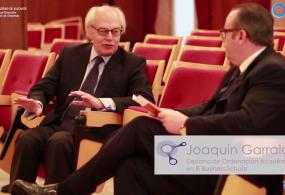 """Vídeo entrevista a Joaquín Garralda, ponente en la conferencia """"Integridad del Directivo"""