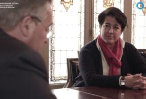 Vídeo-entrevista a Elena Pisonero, Presidenta de Hispasat