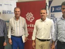 Hidraqua y sus empresas participadas colaboran con la alimentación de 800 familias sin recursos de la provincia de Alicante